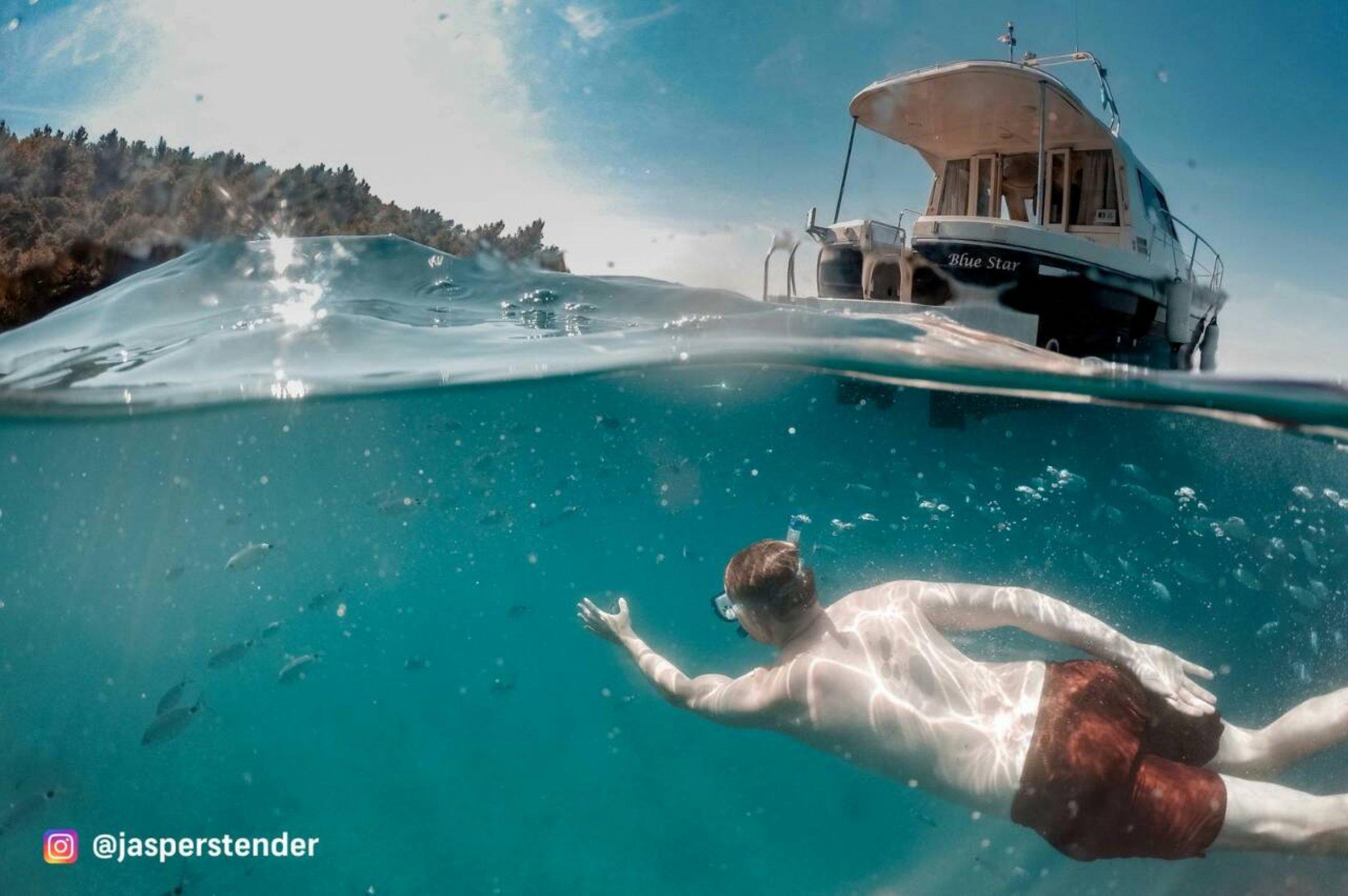 North Kamenjak - swimming